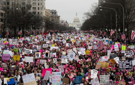 The Women's March attracted thousands of people, not just women, to march for their rights.