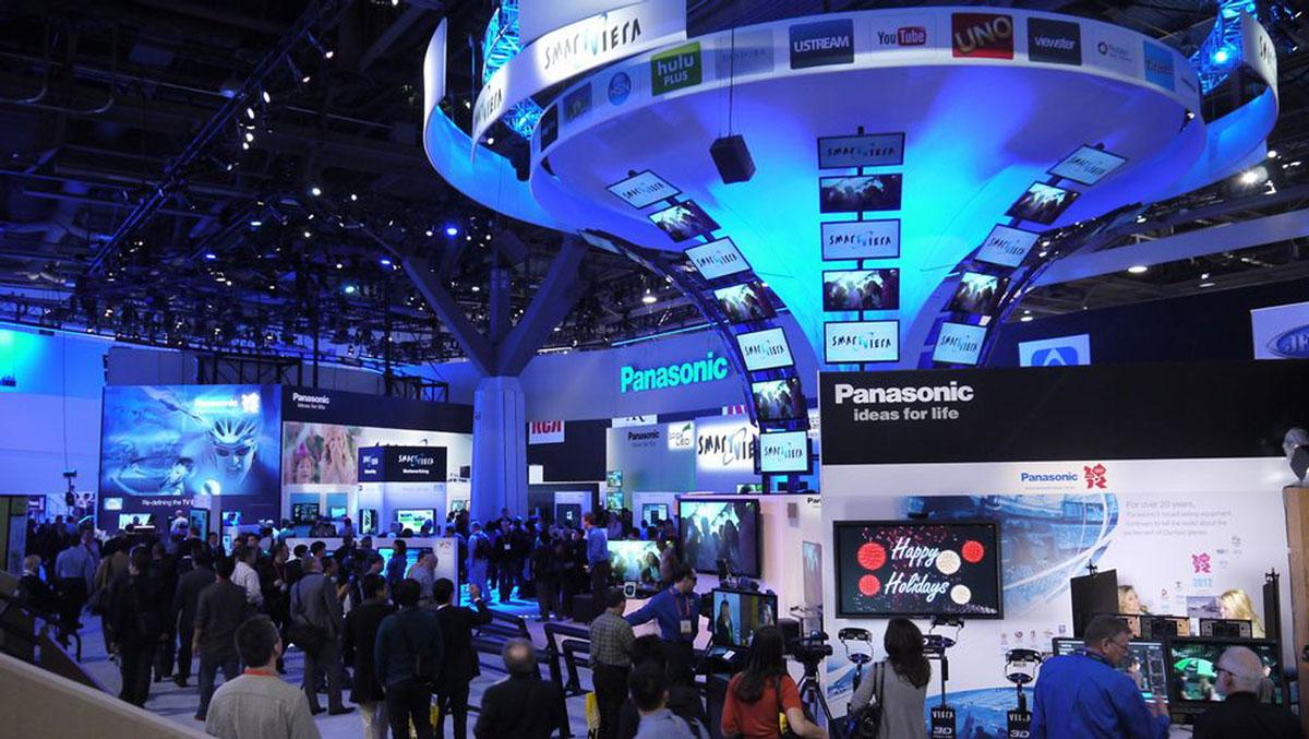The Consumer Electronics Show, photo courtesy of Trade Shows