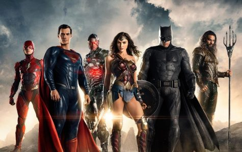 Part of the top 10 movies of 2017,  The Justice League.