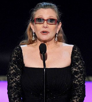This is Carrie Fisher speaking out about her bipolar disorder and how anyone can over come it.