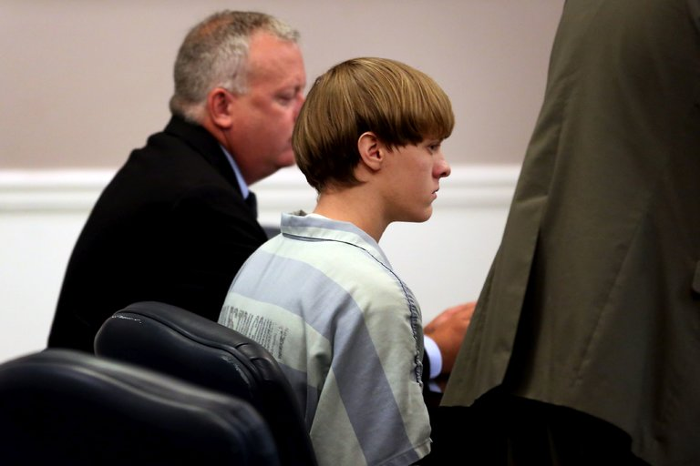 Dylann+Roof+receives+the+death+penalty+for+the+Charleston+shooting.