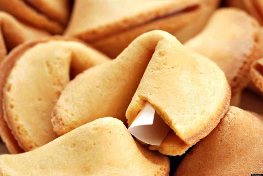 Fortune cookies, photo courtesy of The Huffington Post