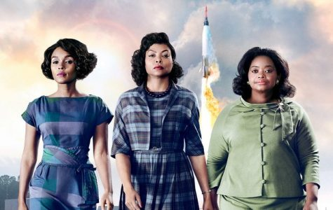 The official movie poster promoting Hidden Figures