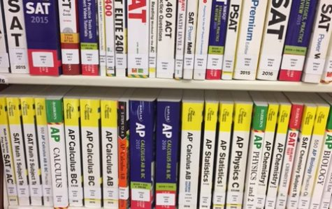 AP review books are available in the library for everyone to use.