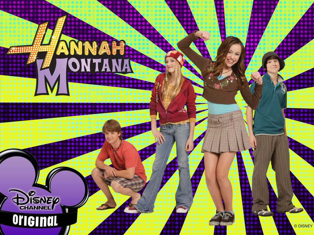 Popular television show, Hannah Montana. Photo Credits:disney-disney-channel-shows-4081018-1024-768