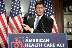 Paul Ryan defends Trumpcare (photo courtesy of Google)