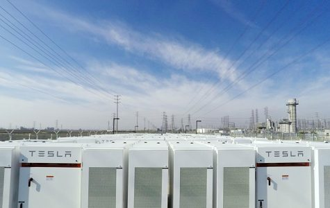 The 20-megawatt power facility located east of Los Angeles in Ontario, California.