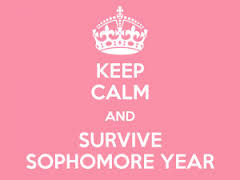 Survive your sophomore year. Photo Credit-https://www.theodysseyonline.com/sophomore-year