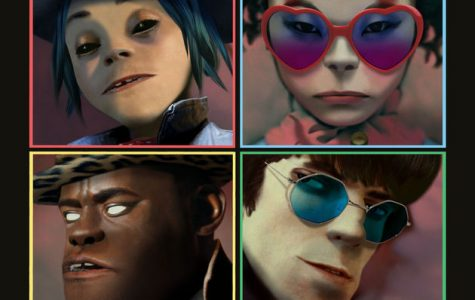 The cover for their newest album: Humanz.