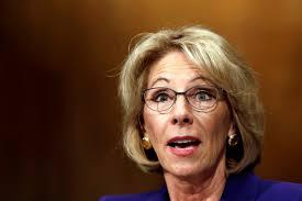 Betsy Devos, Secretary of Education (Photo Courtesy of Google)