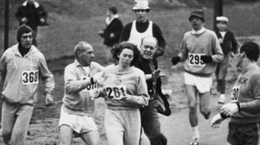 Kathrine+Switzer+was+the+first+woman+to+participate+in+the+Boston+Marathon+in+1967.+Photo+courtesy+of+Fox+News