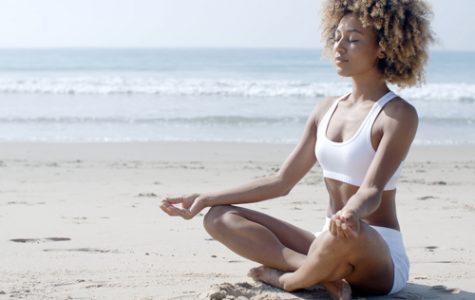 Yoga exercises someone physically and mentally. Photo courtesy of People Magazine.