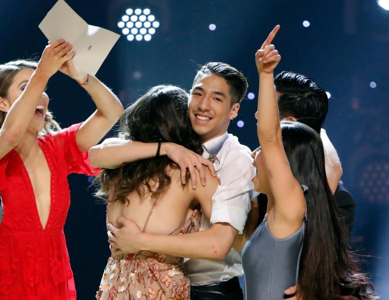 Lex+hugs+Gaby+after+winning+this+season.+