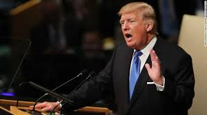 Trump Gives His Speech at U.N. General Assembly