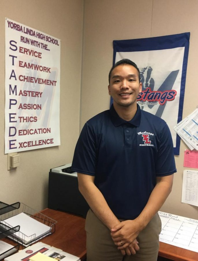 Dr. Dinh, the new assistant principal.