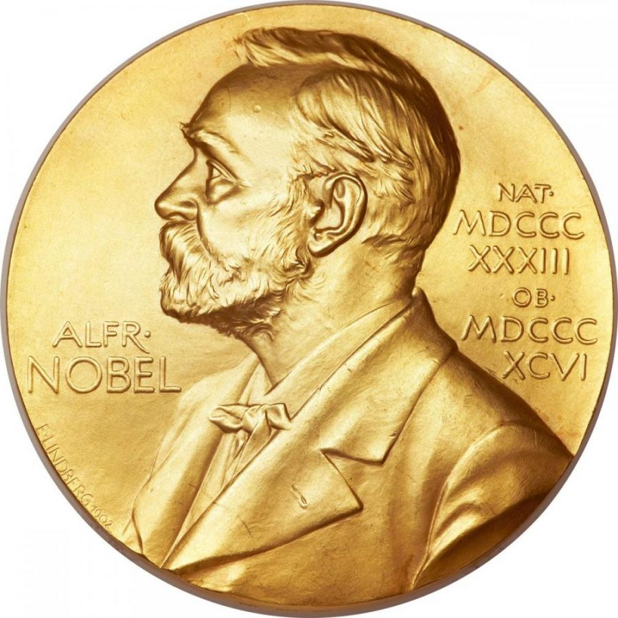 The+Nobel+Prizes+are+awarded+almost+every+year+to+recognize+achievements+in+various+fields+of+study.