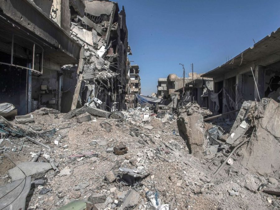The Syrian city is left in complete desolation after the battle. One of the major issues the city is facing is how to finance its reconstruction.