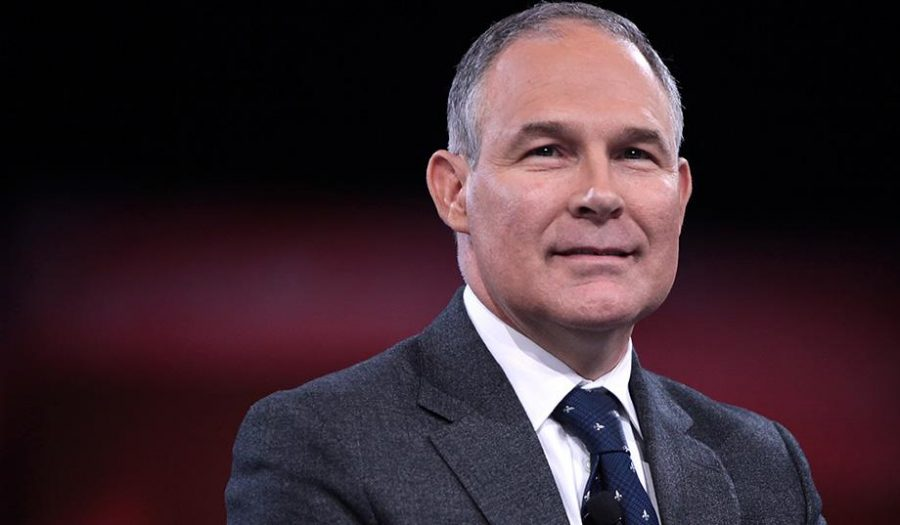 Scott+Pruitt+is+the+head+of+the+EPA.+