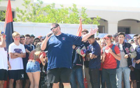 Roaming through Yorba Linda High School