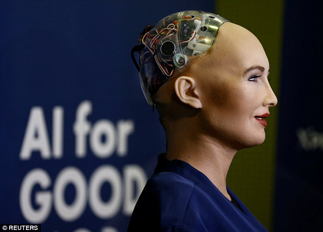 Meet Sophia the Robot: The first robot in history to be granted a full citizenship.