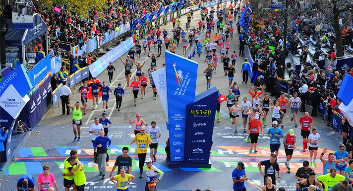 Runners+cross+the+finish+line+at+the+New+York+Marathon