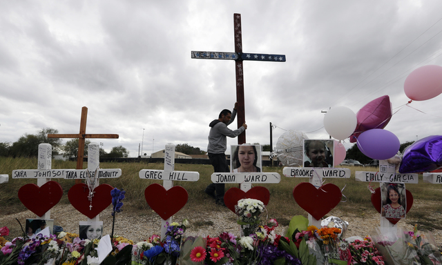 Texans commemorate the lives lost in the tragic attack.