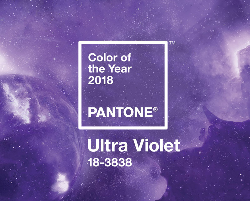 2018 Color of the Year: Ultra Violet