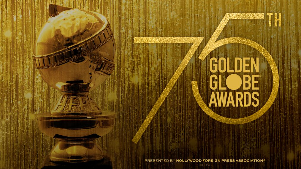 This year's Golden Globes advertisement.