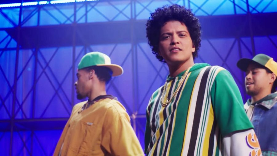 Bruno Mars is one of the most popular artists today.