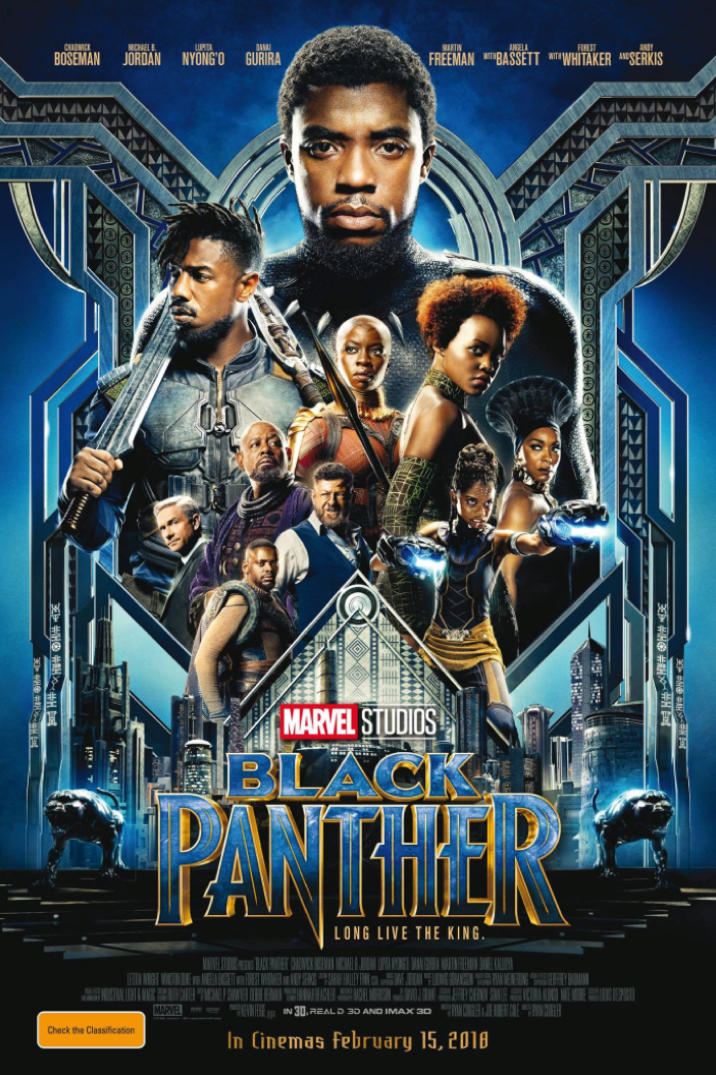 Black Panther has a visually stunning poster to accompany a visually and thematically stunning film.