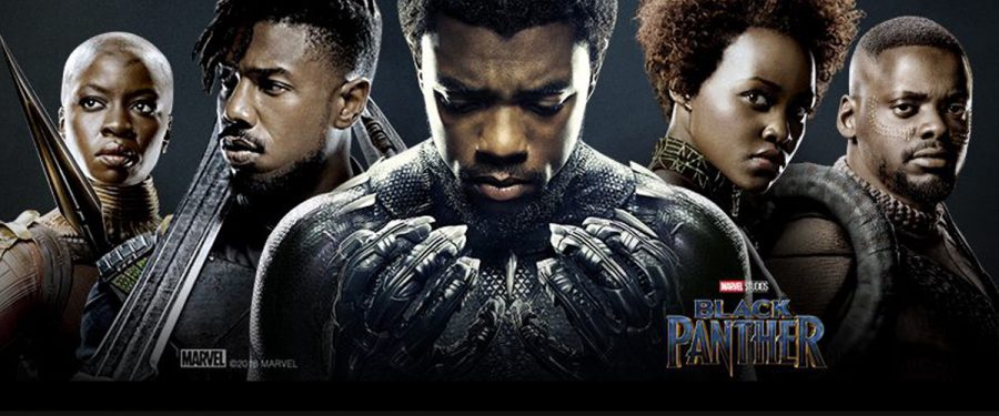Black+Panther+released+this+year+and+is+well+known+for+its+diversity+in+the+cast.+
