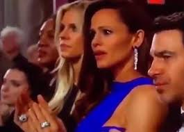An+emotional+picture+of+Jennifer+Garner+at+the+2018+Oscars.+Photo+Credit%3A+Twitter