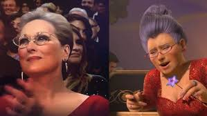 Meryl+Streep%27s+attire+at+the+2018+Oscars.+Photo+Credit%3A+Twitter