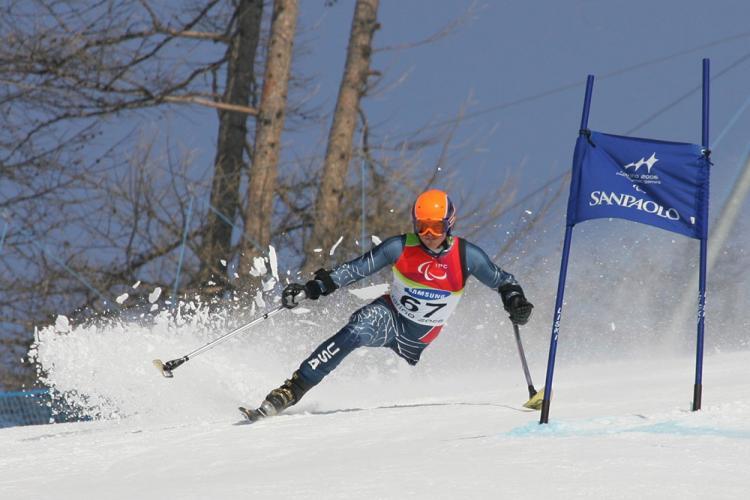 A+Paralympian+ski+racing.