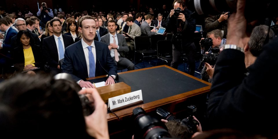 Facebook CEO Mark Zuckerberg testified to Congress on April 10, 2018.