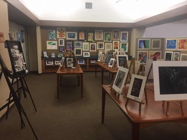 YLHS held its annual Art Show featuring the work of students from all of the Fine Arts programs offered.