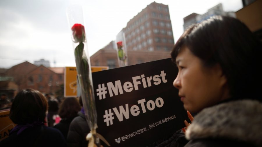 The Me Too Movement in Korea has been a huge success. Photo Credit: PRI.org