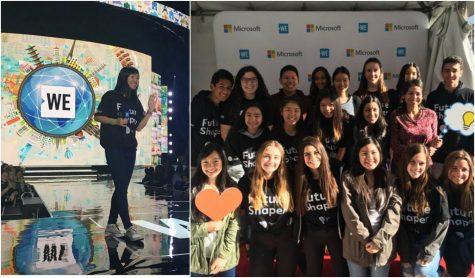 YLHS at WE Day California 2018