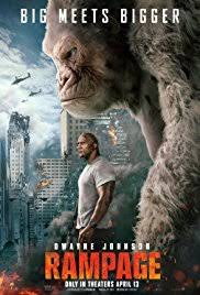 Rampage movie poster(Photo courtesy of IMDB)