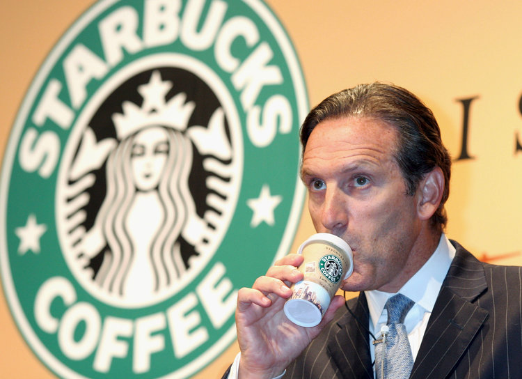 Howard+Schultz%2C+the+owner+of+Starbucks%2C+enjoying+his+cup+of+coffee.+Photo+credit%3A+Business+Insider.+