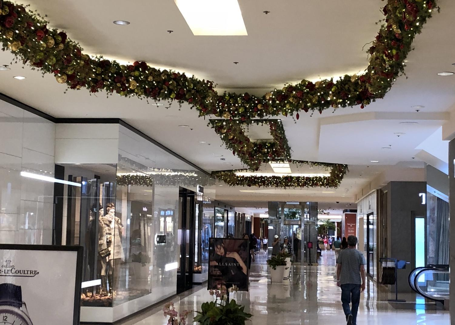 South Coast Plaza, a mall in Costa Mesa, has had their Christmas decorations up since the middle-end of October. People, however, are still waiting for their grand tree to go on display.