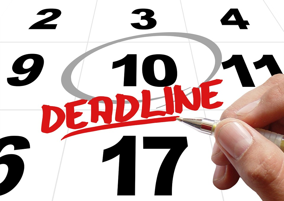 Make sure to go to the websites of the schools you are applying to so that you know all the Early Action, Early Decision, and Regular Decision deadline dates.