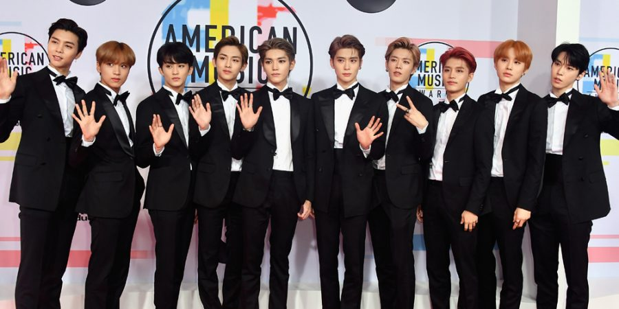 South+Korean+K-Pop+group+NCT+127+joined+a+diverse+group+of+attendees+on+the+red+carpet.+