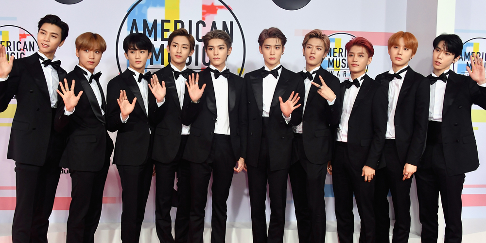 South Korean K-Pop group NCT 127 joined a diverse group of attendees on the red carpet.