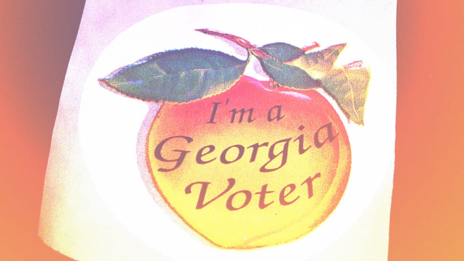 Voter suppression has been on the rise in a few states, such as Georgia.