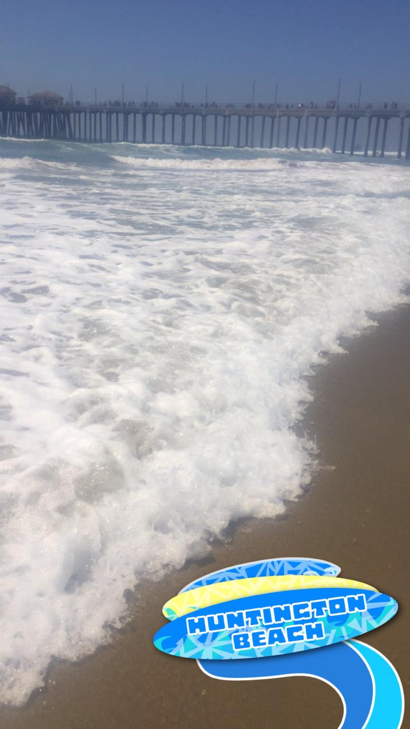 One of the most popular beaches for surfing is Huntington Beach, California, home of the U.S. Open Surfing Competition each year during the summer.