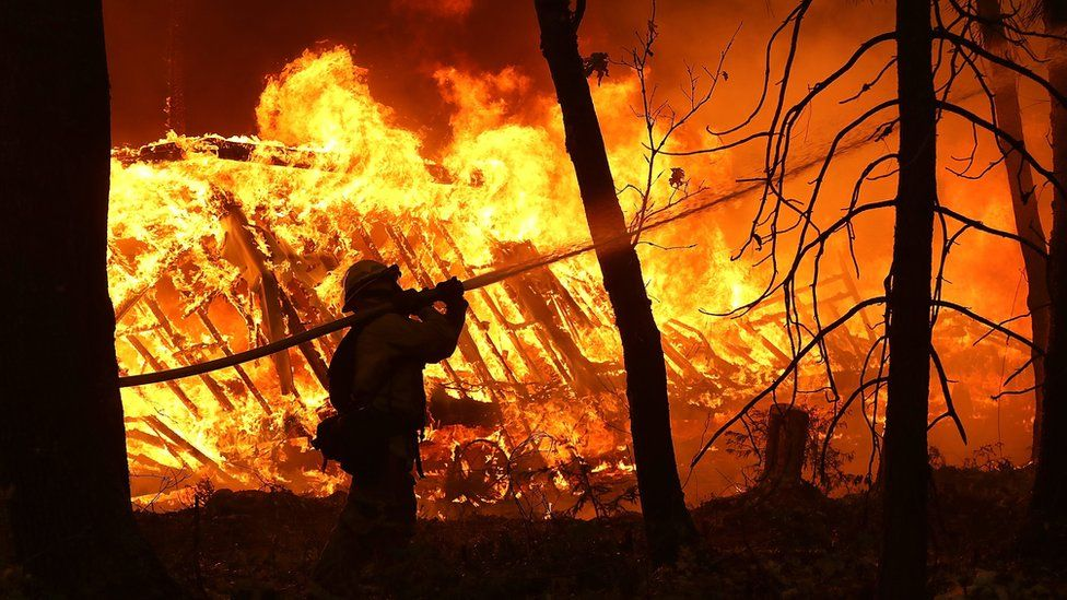 California faces another huge wildfire tragedy