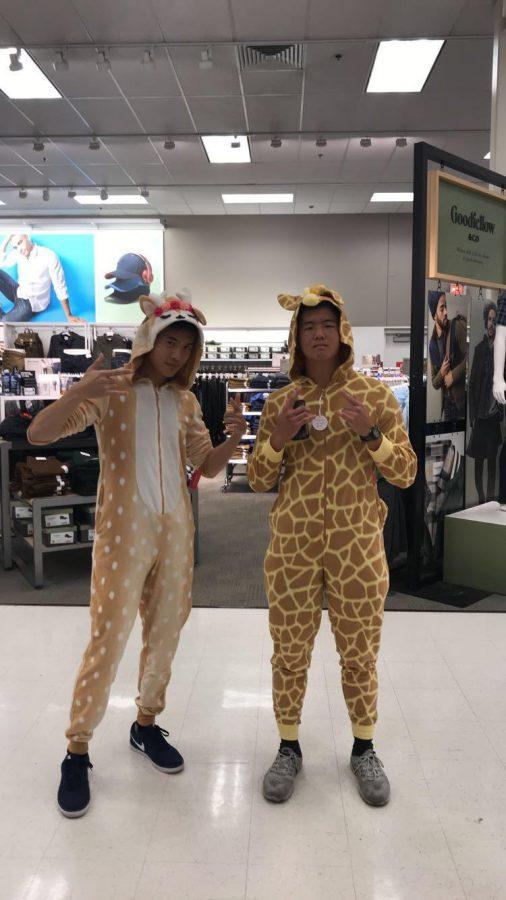 Isaiah+Seo+and+Wayne+Chan+at+Target