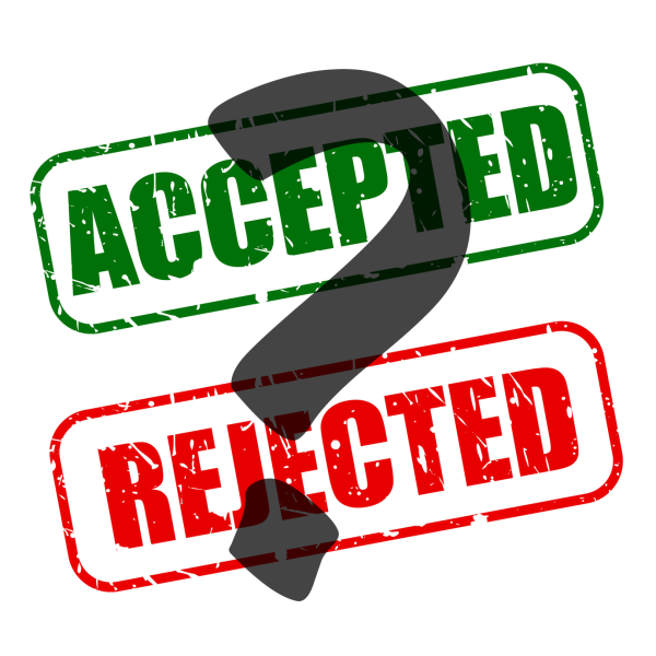 Accepted or Rejected?; photo courtesy of IvyWise Blog