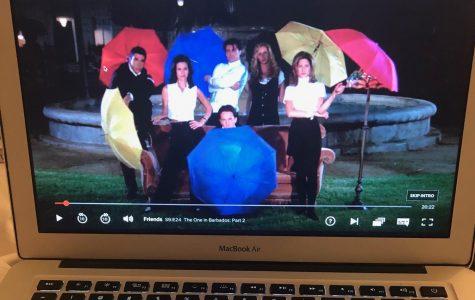 The show Friends on Netflix.